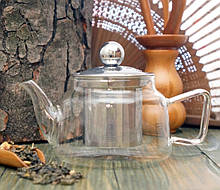 Чайник - заварник стекло 300 мл.