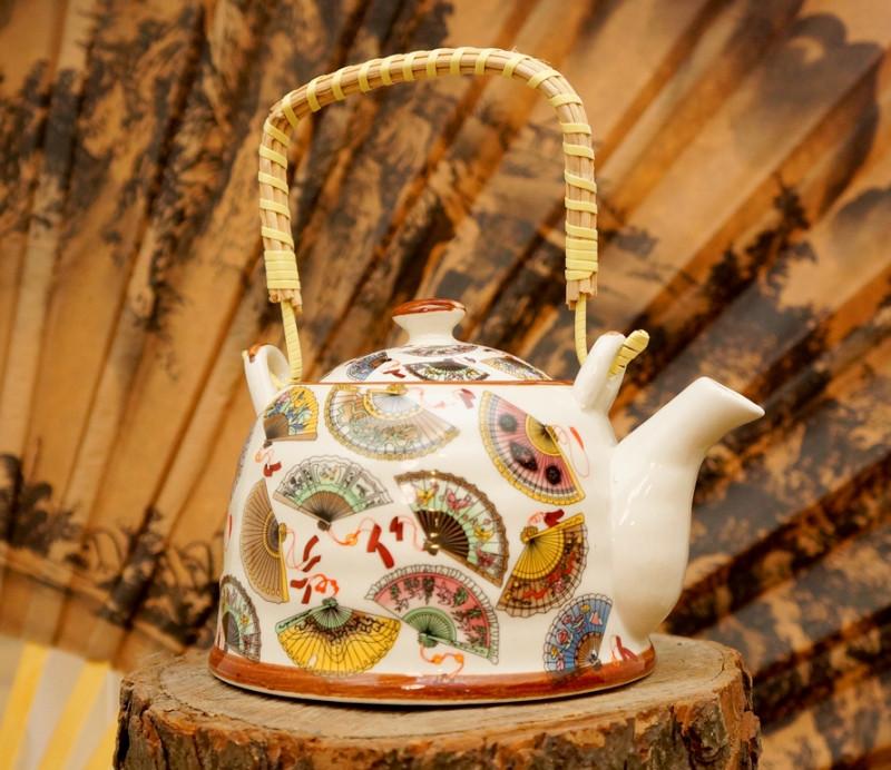 9200067 Чайник - заварник 'Тибет' фаянс №1