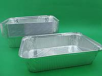 Контейнер из пищевой  алюминевой  фольги  50шт(SP88L) (1 пач)