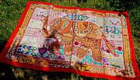 9040054 Настенный ковёр 'Вышивка' Слон 152*100см. №4