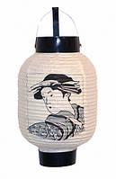 9050022 Фонарик японский садовый бумага + пластик №3