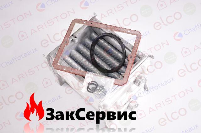 Главный теплообменник на конденсационный газовый котел Ariston EGIS PREMIUM 30, Chaffoteaux ALIXIA GREEN 30 кВ