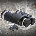 Бинокль 10*50 CM WA Обрезиненный корпус, поворотно-выдвижные наглазники (для тех кто носит очки) + чехол, фото 3
