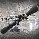 Прицел BSA Sweet 3-12*40 MilDot крепление ласточкин хвост, ручной ввод поправок, защитные колпачки, фото 4