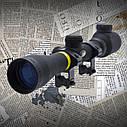 Прицел BSA Sweet 3-9*32Е MilDot с подсветкой крепление ласточкин хвост, ручной ввод поправок защитные колпачки, фото 3
