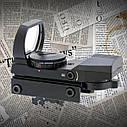 Прицел коллиматорный HD 101 1х, подсветка прицельной сетки 2 цвета, 6 режимов, крепление 22 мм, фото 2