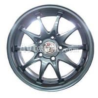 Литые диски RS Wheels 138 R15 W6.5 PCD5x114.3 ET40 DIA69.1 (MLHB)