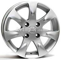 Литые диски WSP Italy Kia (W3702) Aida R15 W6 PCD4x100 ET43 DIA54.1 (silver)