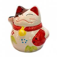 9320045 Счастливый кот Манеки Неко копилка №1