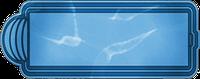 Бассейн стекловолоконный 8,0*3,0*1,55