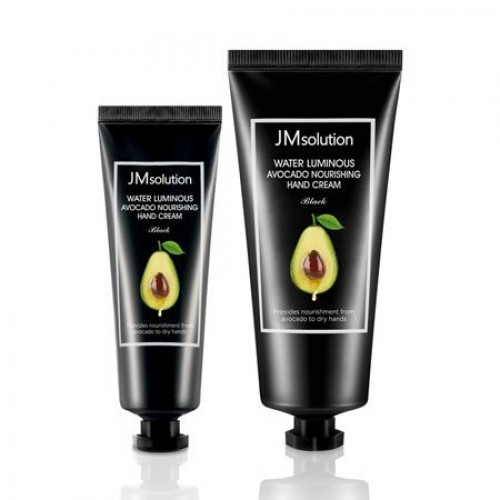 Крем для рук с авокадо JM SOLUTION Water Luminous Avocado Nourishing Hand Cream  100+50мл