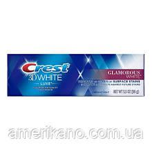 Отбеливающая зубная паста Crest 3D White Luxe Glamorous White 116 гр. Америка.