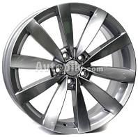 Литые диски WSP Italy Volkswagen (W457) Rostock R18 W8 PCD5x112 ET41 DIA57.1 (black)
