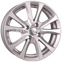 Литые диски Tech-Line TL509 R15 W6 PCD4x108 ET50 DIA63.4 (silver)