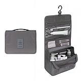 """Дорожный подвесной органайзер для косметики """"Travel bag"""" (24*18.5*9.5 см) , фото 4"""