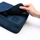 """Дорожный подвесной органайзер для косметики """"Travel bag"""" (24*18.5*9.5 см) , фото 5"""