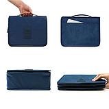 """Дорожный подвесной органайзер для косметики """"Travel bag"""" (24*18.5*9.5 см) , фото 6"""