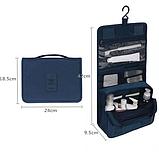 """Дорожный подвесной органайзер для косметики """"Travel bag"""" (24*18.5*9.5 см) , фото 7"""