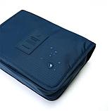 """Дорожный подвесной органайзер для косметики """"Travel bag"""" (24*18.5*9.5 см) , фото 8"""