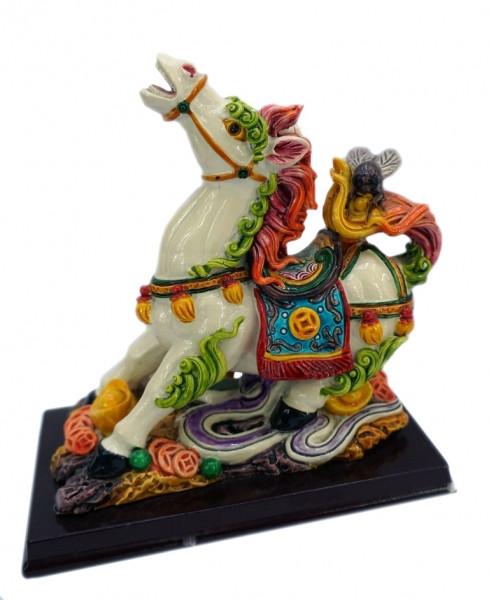 9260315 Лошадь полистоун пёстрый №3