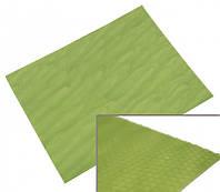 Цветная вощина листовая 10 листов Зелёная