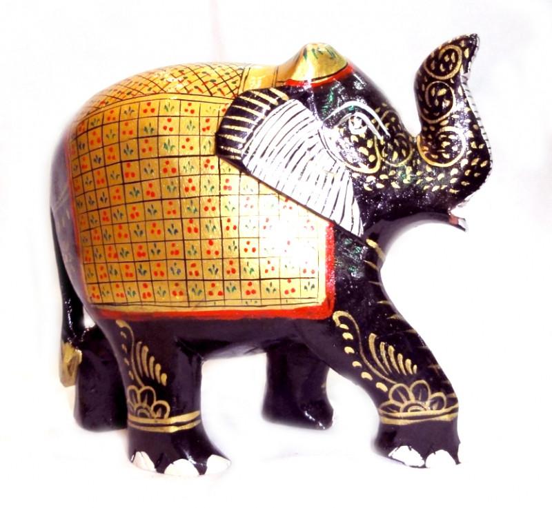 9160049 Слон деревянный стиль 'хохлома' С6122-5'