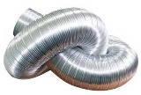Гибкий алюминиевий воздуховод (Температурний диапазон ˚С -30 +250) d80х3м , 48 шт/уп