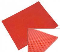 Цветная вощина листовая 10 листов Красная