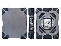Книга подарочная элитная серия BST 860033 267х327х54 мм Шедевры мировой архитектуры в кожаном переплете