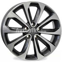 Литые диски WSP Italy Nissan (W1855) Vulture R17 W6.5 PCD5x114.3 ET40 DIA66.1 (anthracite polished)