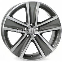 Литые диски WSP Italy Volkswagen (W463) Cross Polo R16 W7 PCD5x100 ET46 DIA57.1 (anthracite polished)