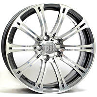 Литые диски WSP Italy BMW (W670) M3 Luxor R18 W8.5 PCD5x120 ET52 DIA72.6 (anthracite polished)