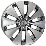Литые диски WSP Italy Volkswagen (W461) Ermes R16 W6.5 PCD5x112 ET42 DIA57.1 (anthracite polished)