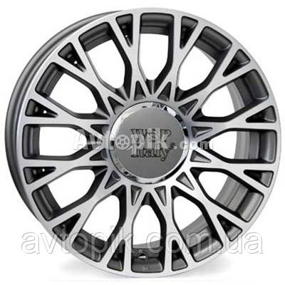 Литые диски WSP Italy Fiat (W162) Grase R15 W6 PCD4x98 ET35 DIA58.1 (anthracite polished)