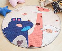 Коврик-мешок детский игровой Play Mat В мире животных арт.kovrik-animals, КОД: 1061529