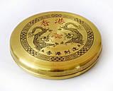 9270023 Компас фэн шуй круглый в металлической коробке, фото 2