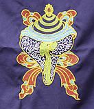 9040387 Занавеска дверная Тибетская с вышивкой №1, фото 2