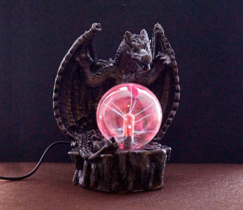 9050023 Плазменный Шар - светильник 'Дракон' Plasma Light электрический №1
