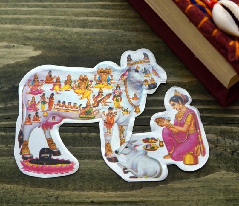 Стикер бумажный 'Индийские боги' №21