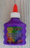 Клей для творчества. Непрозрачный Фиолетовый 88 мл ZB.6113-07 ZIBI