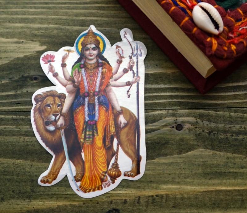 Стикер бумажный 'Индийские боги' №36