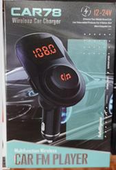 FM трансмітер MOD. CAR 78 BT