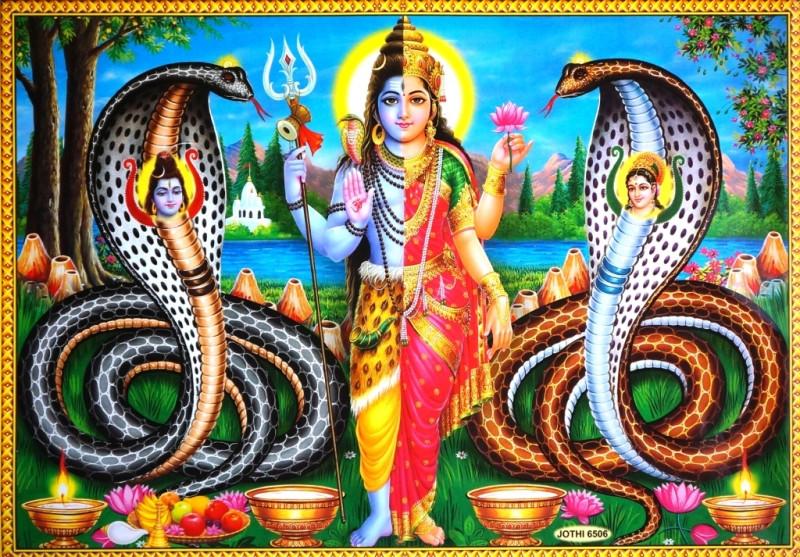 9040041 Постер 'Индийские боги' Шива Jothi 6506