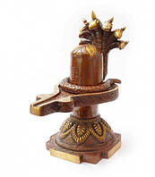 9070265 Статуэтка бронзовая Шивалингам 2 части