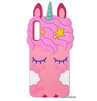 Чехол-накладка TPU 3D Little Unicorn для Samsung Galaxy A50 (2019) SM-A505F Pink