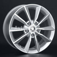 Литые диски Replay Skoda (SK78) R16 W6.5 PCD5x112 ET46 DIA57.1 (silver)