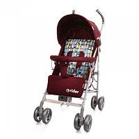 *Коляска - трость прогулочная детская TM BabyCare Rider Red в льне арт. 0002