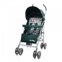 *Коляска - трость прогулочная детская TM BabyCare Rider Green в льне арт. 0002