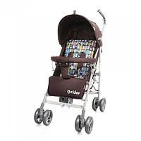 *Коляска - трость прогулочная детская TM BabyCare Rider Brown в льне арт. 0002