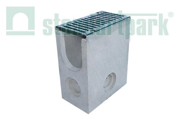Бетонный пескоуловитель DN110 с чугунной решеткой